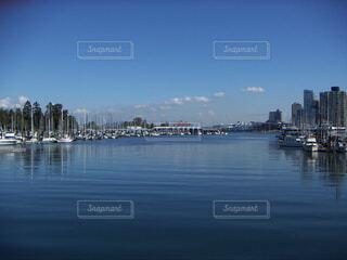 スタンレーパークからの港の眺め@カナダ バンクーバーの写真・画像素材[1703211]