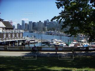 公園と港@バンクーバー スタンレーパークの写真・画像素材[1703218]
