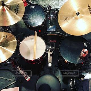 ドラム(演奏者目線)の写真・画像素材[1704332]