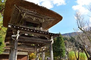 世界遺産白川村の中にある仏閣の写真・画像素材[1704623]