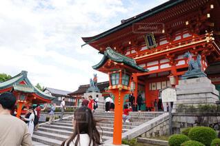 京都観光で撮影した写真の写真・画像素材[1704704]