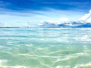 リゾートの海の写真・画像素材[1704710]