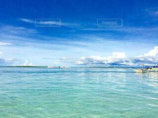 セブ島の綺麗な海の写真・画像素材[1704711]