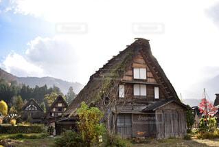 白川郷の合掌造りの写真・画像素材[1706393]