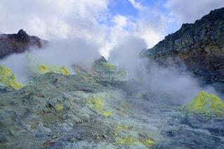 北海道の硫黄山の写真・画像素材[1710293]