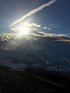 富士山からの景色の写真・画像素材[1706200]