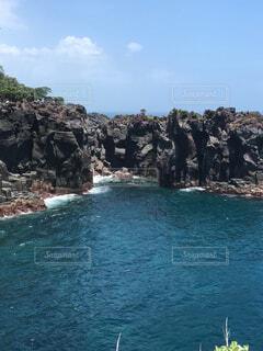 城ヶ崎海岸からの風景の写真・画像素材[1705301]