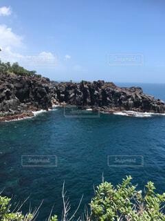 城ヶ崎海岸からの風景の写真・画像素材[1705302]
