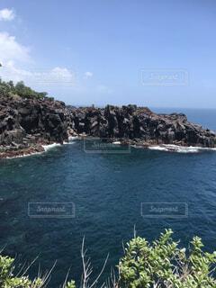 城ヶ崎海岸からの風景の写真・画像素材[1705303]
