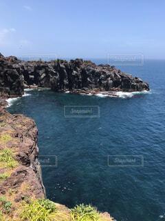 城ヶ崎海岸からの風景の写真・画像素材[1705304]