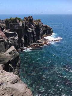 城ヶ崎海岸からの風景の写真・画像素材[1705305]