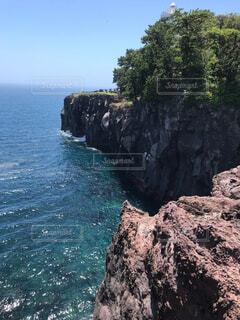 城ヶ崎海岸からの風景の写真・画像素材[1705307]