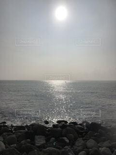 稲取の朝の海の写真・画像素材[1706899]