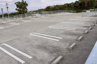 駐車場の写真・画像素材[2033615]