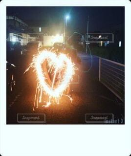 手持ち花火の写真・画像素材[3647724]