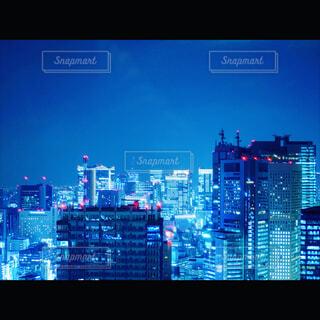 聳える都市のシステムの写真・画像素材[1705516]