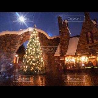 クリスマスツリーinUSJの写真・画像素材[1708538]