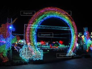 虹の門の写真・画像素材[1706007]