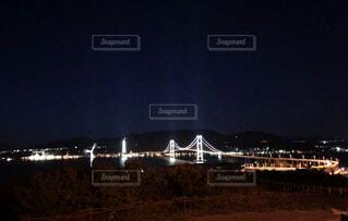 小さな町の大きな橋の写真・画像素材[1707899]