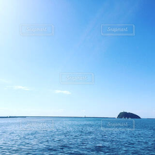 水の大きな体の写真・画像素材[1714277]
