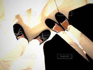 いつものポーズの写真・画像素材[1757134]