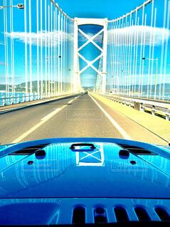 白い橋の写真・画像素材[1757265]