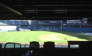 シアトル・マリナーズのホーム球場、セーフコ・フィールドの整備中の写真ですの写真・画像素材[1708562]