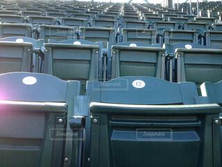 シアトルマリナーズのホーム球場セーフコ・フィールドの座席です。の写真・画像素材[1708563]