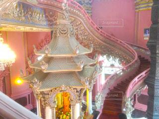 ピンクの寺院の写真・画像素材[1711487]