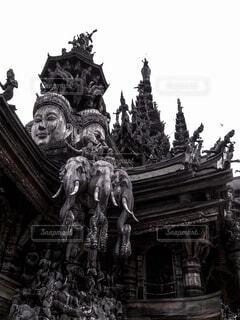パタヤ 真実の聖域の写真・画像素材[1712583]