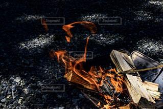 焚火の写真・画像素材[1712266]