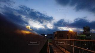 都市の空の景色の写真・画像素材[1730976]
