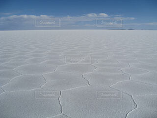 ウユニ塩湖・ドライの写真・画像素材[1723300]