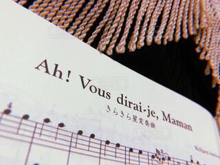 楽譜の写真・画像素材[1713025]