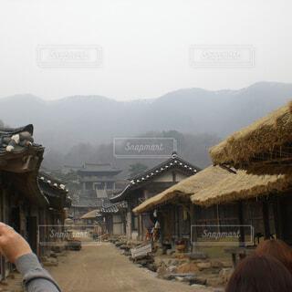 韓国時代劇の撮影所の写真・画像素材[1804551]