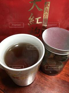 烏龍茶  普洱茶の写真・画像素材[1736157]