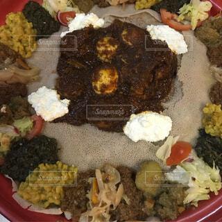 エチオピア料理の写真・画像素材[1725303]