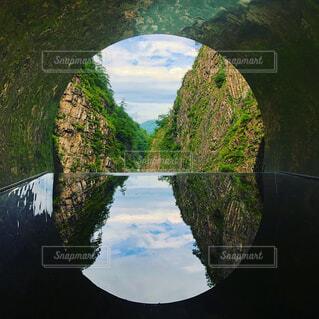 清津峡トンネルの写真・画像素材[1721839]