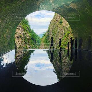 清津峡トンネルの写真・画像素材[1721840]