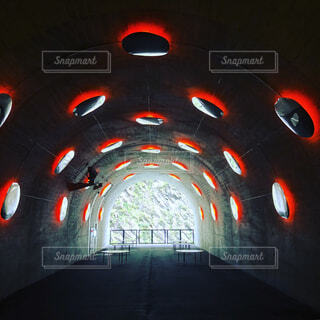 清津峡トンネルの写真・画像素材[1722092]