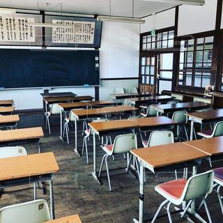 懐かしの教室の写真・画像素材[2156112]
