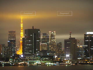 東京の夜景の写真・画像素材[1717497]