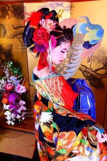 京都で花魁体験の写真・画像素材[1724841]