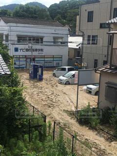 西日本豪雨の写真・画像素材[1715355]