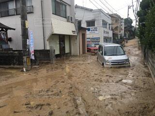 西日本豪雨の写真・画像素材[1715361]