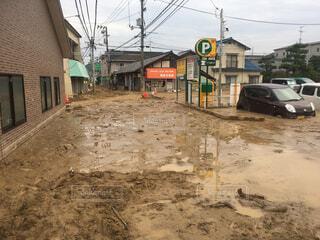 西日本豪雨の写真・画像素材[1715364]