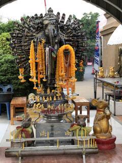 バンコクのガネーシャ像ですの写真・画像素材[1727081]