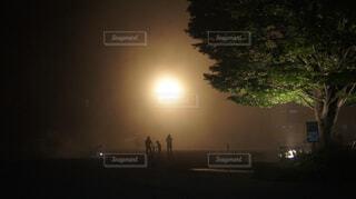 山の夜の写真・画像素材[1010619]