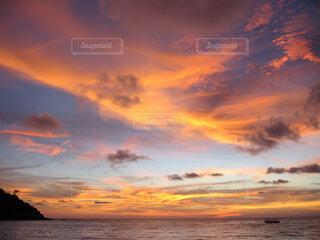 夕日の写真・画像素材[1723984]