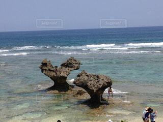 ハート岩の写真・画像素材[782722]